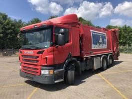 garbage truck Scania 320 LB6x2*4MLB JOAB GARBAGE 2014