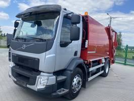 garbage truck Volvo FE 260 EURO 6 NTM 12m3  2 chamber 2015