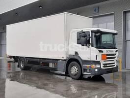 closed box truck Scania P250.18 2013