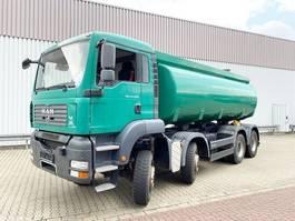 tank truck MAN 8x6 BB TGA 41.440 8x6 BB, Standklima, 20.000l Alu-Tank 2007