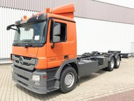 chassis cab truck Mercedes-Benz Actros 2641 L 6x4 Actros 2641 L 6x4 Standheizung 2012