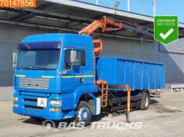 platform truck MAN TGA 18 4X2 LX Manual Intarder Euro 3 Palfinger PK10500 BH4Y 2002