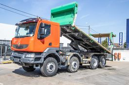 tipper truck > 7.5 t Renault Kerax 410 DXI+INTARDER+BIBENNE 2007