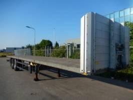 flatbed semi trailer System Trailer PRS 18 2 as Oplegger Open, OR-29-VP 2010