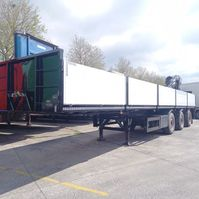 flatbed semi trailer KWB
