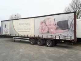 sliding curtain semi trailer Van Hool Mega schuifzeiloplegger