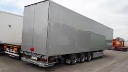 closed box semi trailer A&D Mega box-oplegger A&D met onderschuiflaadbrug