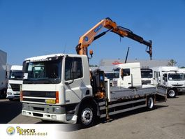 platform truck DAF CF reservedddd Euro 2 + Effer 110 2s CRANE + Winch 2000