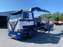 crane truck Scania 113 M 360 1991