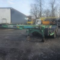 container chassis semi trailer ASCA containerchassis 20'' 2005