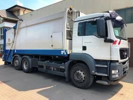 garbage truck MAN TGS 26 Schörling 3 R II 22,5 Zöller 2301 2010