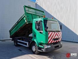 tipper truck > 7.5 t Renault Midlum 220 50000km ex comunal 2004