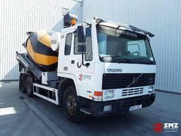 concrete mixer truck Volvo FL10 320 lames manual pump 1996