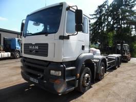 chassis cab truck MAN TGA 35 8 x 4 2006