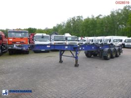 Container-Fahrgestell Auflieger Montracon 3-axle container trailer 20-30-40-45 ft 2010