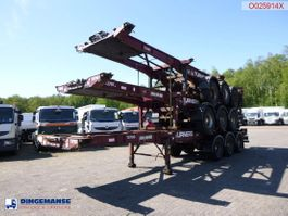 Container-Fahrgestell Auflieger Montracon Stack - 3 x container trailer 20-40-45 ft 2007