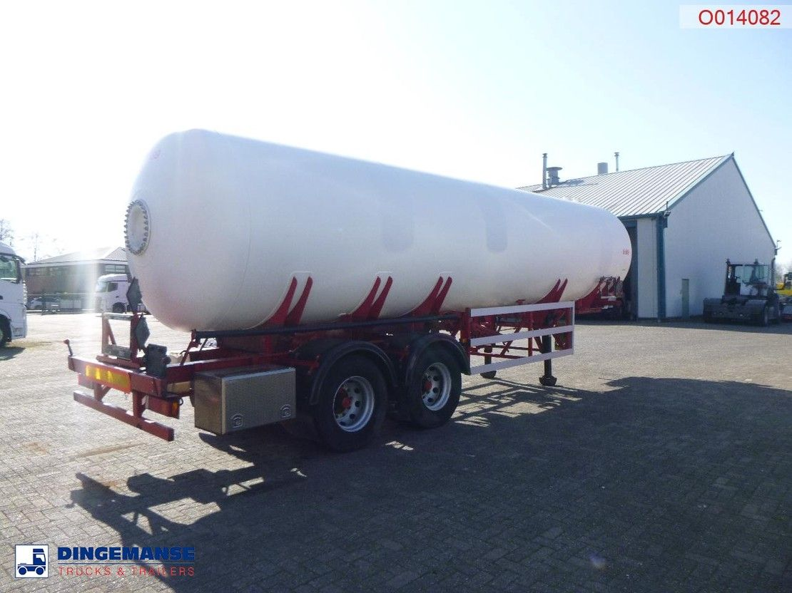 tank semi trailer semi trailer Van Hool Gas / ammonia tank steel 34 m3 + pump 1979