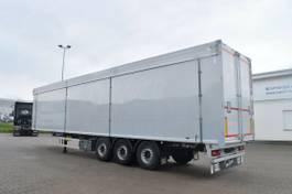 walking floor semi trailer Knapen Trailers K100 10mm Boden 2xLift Fernbedienung 2015