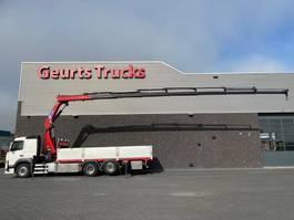 crane truck Volvo FM 460 6X2 + HMF 3220-K7 KRAAN/KRAN/CRANE/GRUA 2014