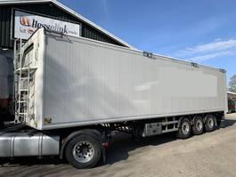 walking floor semi trailer Kraker CF 200 70m3 11.3M Agrar Alcoa's Automatic Roof 6.500KG TOP 2015