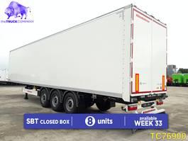 closed box semi trailer KAESSBOHRER SBT Closed Box