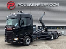 container truck Scania R450 CR20N Meiller Hooklift 2018
