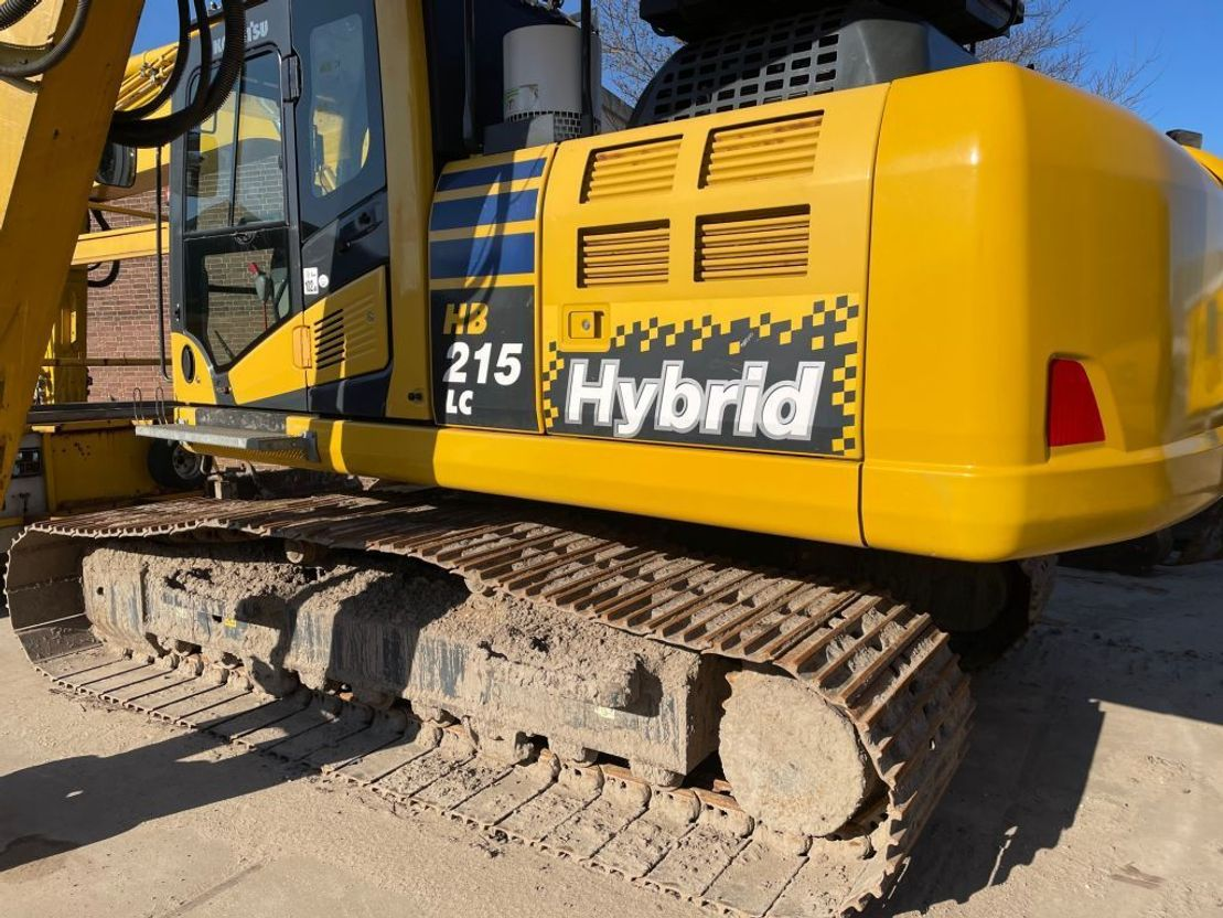 crawler excavator Komatsu HB215LC2 hybrid 2016