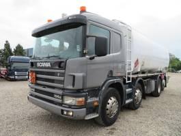 tank truck Scania 114G 340 8x2*6 24000 L ADR Diesel/Benzin 2001