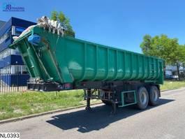 tipper semi trailer Fruehauf kipper Steel suspension 2000