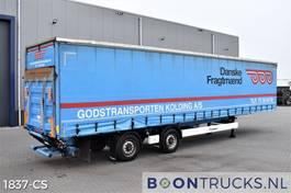 sliding curtain semi trailer Krone SZ | LENKACHSE * 2.5 T LADEBORDWAND 2013