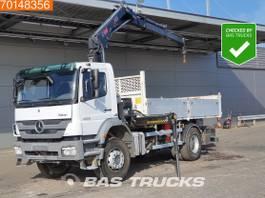 tipper truck > 7.5 t Mercedes-Benz Axor 1829 4X2 Manual Big-Axle Euro 5 Hiab 122 BS-2 HIDUO 2011