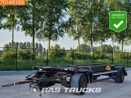 swap body trailer Kögel AWE18 2 axles 2012