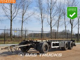 container chassis trailer GS Meppel AIC-2700N 3 axles NL-Truck Liftachse 2006