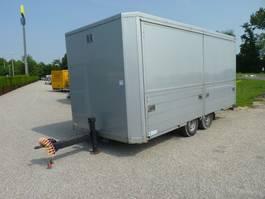 closed box car trailer ESVE AWK 3500 fietsvervoer podiumwagen 2004