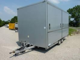 closed box car trailer Van Weel VW 3500L 2005