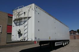 walking floor semi trailer Kraker CF-Z 200 92 CBM CLEAN TRAILER 2013