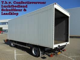other full trailers Pacton - Vrachtwagen Aanhangwagen Gesloten, WF-DL-09 2002