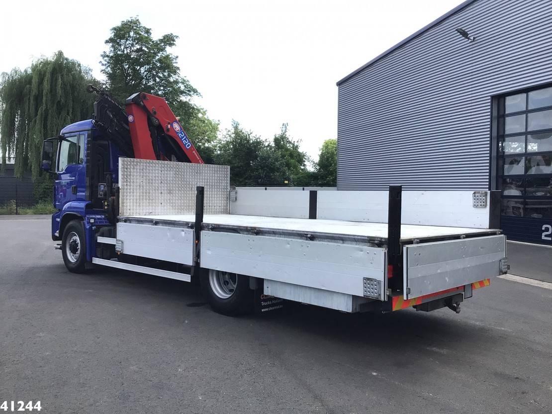 Kranwagen MAN TGS 18 18.400H 4x4 Euro 6 HMF 21 ton/meter laadkraan 2014