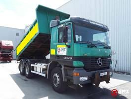 tipper truck > 7.5 t Mercedes-Benz Actros Tracteur/benne 1999