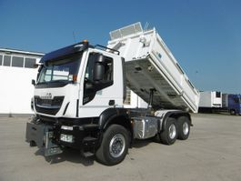 tipper truck > 7.5 t Iveco 10.2021 480 E6 Meiller 39TKM 6x4 Bordmatik 2018