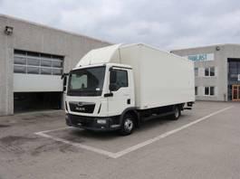 closed box truck MAN TGL 8.190 2019