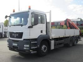 platform truck MAN TGS 26 Andere 6x4 Autom./Klima/Tempomat 2011
