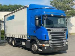 tilt truck Scania R Euro 5 Retarder Liftachse Edscha LBW 2012