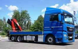 crane truck MAN TGX 24 6x2 HMF 1820 Crane Kran 2014