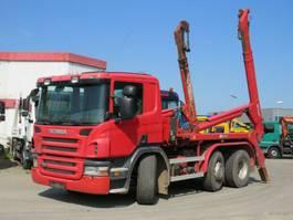 container truck Scania P 6x2/4HNA Absetzkipper Deutsch Meiller AK 1 2007