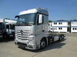 swap body truck Mercedes-Benz Actros L BDF-Fahrgestell f. Mitnahmestapler 2016