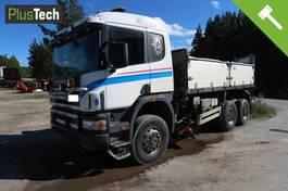tipper truck > 7.5 t Scania 124 1998