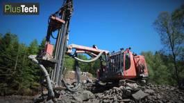 Earth drill Sandvik DX780 2014