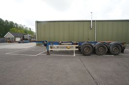 container chassis semi trailer Van Hool 3 AXLE CONTAINER TRAILER 2006