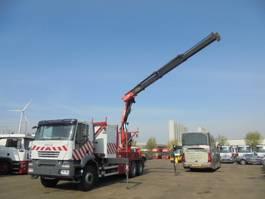 platform truck Iveco Trakker AD260T33 6X4 2007